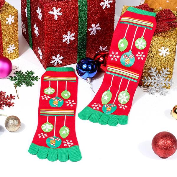 christmasstocking, elasticcartoonlongsock, Elastic, unisex