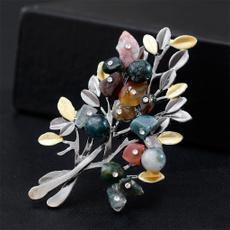 Tree, Fashion, weddingbrooch, Elegant