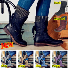 Moda, Leather Boots, Ladies Fashion, midcalf