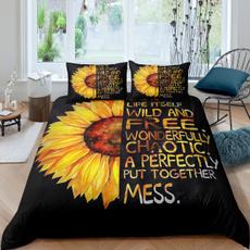 Sunflowers, Bedding, sunflowerbeddingset, Cover
