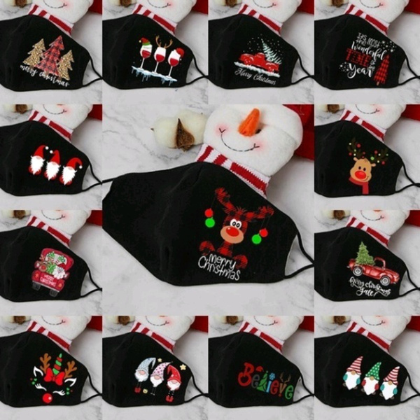 Outdoor, mouthmask, Christmas, unisex