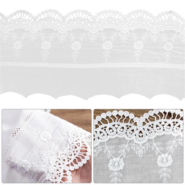 lace trim, embroideryflorallacetrim, Lace, Sewing