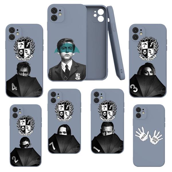 case, TPU Case, theumbrellaacademy, grayiphonecase