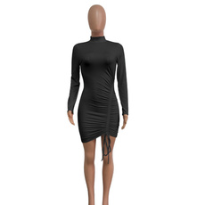 Mini, Plus Size, package hip dress, short dress