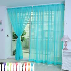 bedroomcurtain, Home & Kitchen, Decor, tulle