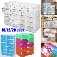 stackable, shoesstoragebin, Sneakers, foldableshoebox