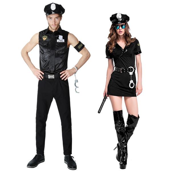 Fashion, policewomencostume, Masquerade, Dress