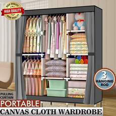 Steel, Home & Kitchen, clothingclosetstorage, storagewardrobe