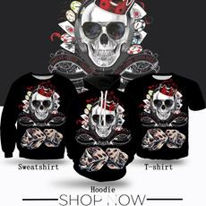 Fashion, Dice, skull, Shirt