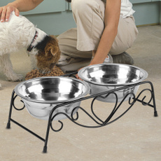 Steel, Stainless Steel, pet bowl, Home & Living