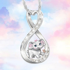 925 sterling silver necklace, cute, Fashion, Love