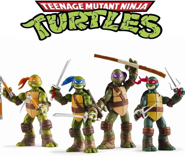 Turtle, teenage, Toy, figure