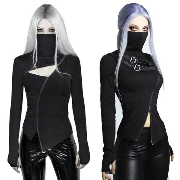 Goth, Fashion, Long Sleeve, Cosplay Costume