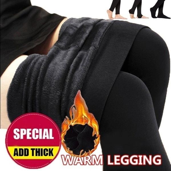 Leggings, Warm Leggings, velvet, high waist
