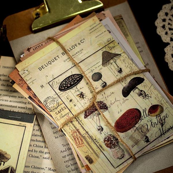 Plants, Scrapbooking, Journal, Paper