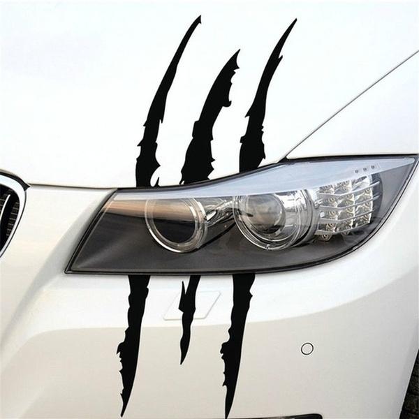 Cars, stripeclaw, scratch, Stickers