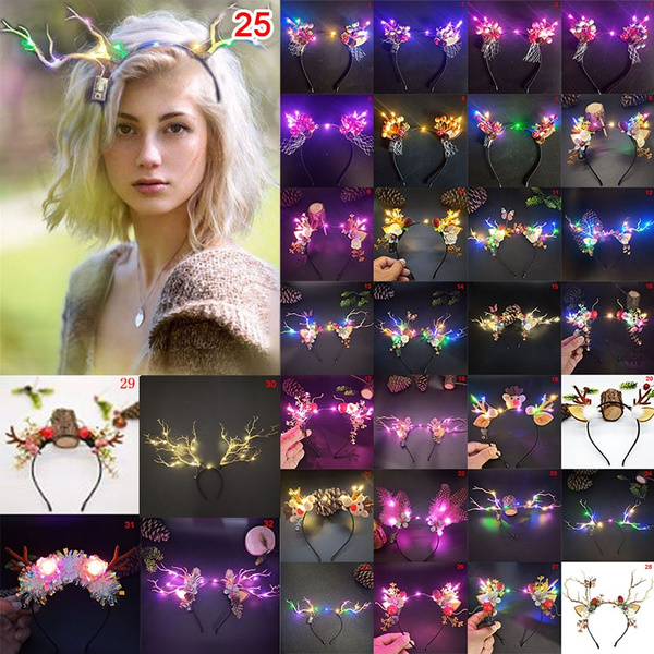 Flowers, headdress, Christmas, Hair Accessories