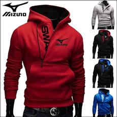 Outdoor, sportswearhoodie, felpeuomo, zipperhoodiesmen