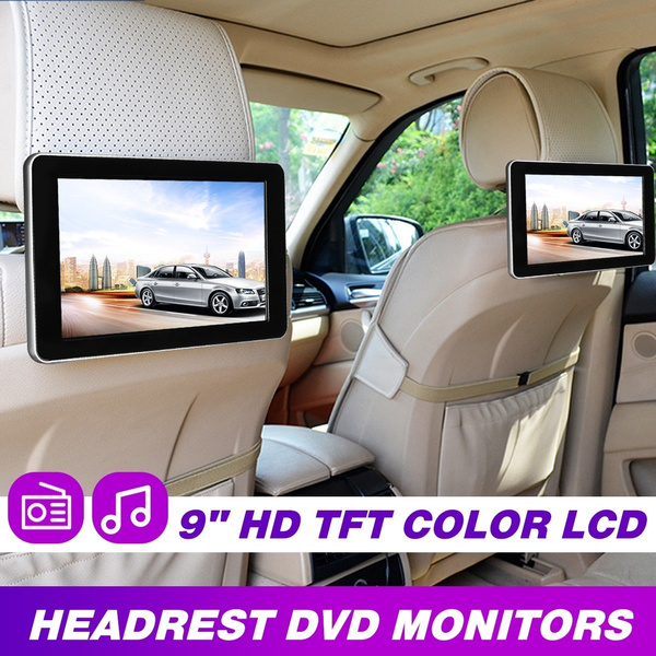 cardvdmonitor, Monitors, carvideoplayer, headrest