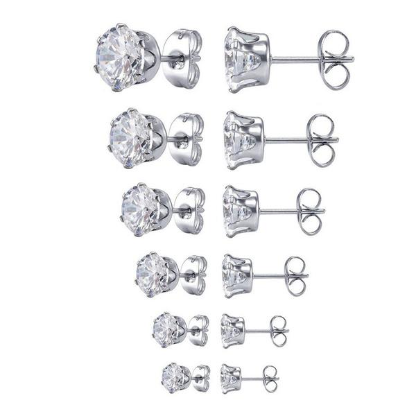 Sterling, Steel, Fashion, Jewelry