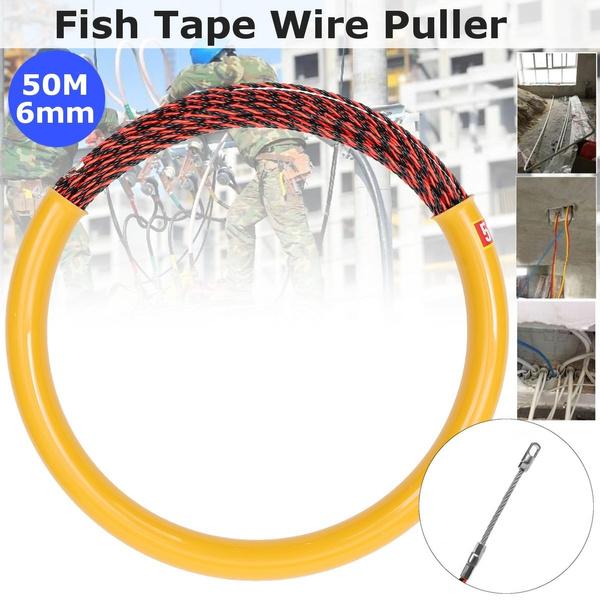 fiberglasscablepuller, resinglasswirecable, fish, snake