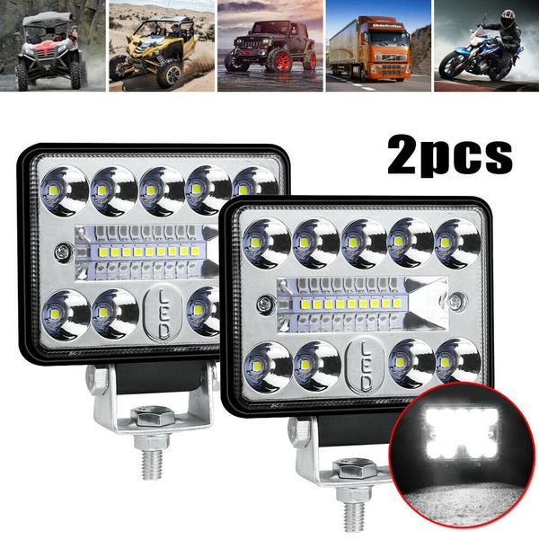drivinglamp, spotfloodledlight, caroffroadledlightbar, Car Accessories
