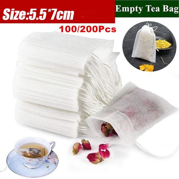 paperherblooseteabag, emptyteabag, Bags, Tea