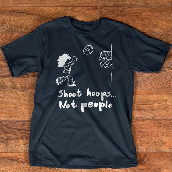 shoot, Hoop, Shirt, T Shirts
