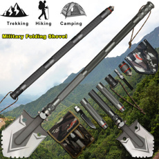 Outdoor, Hiking, camping, shovel
