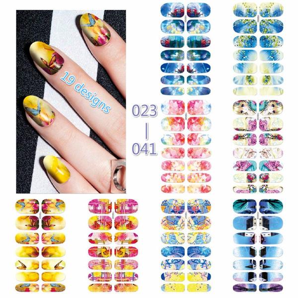 Beauty, Waterproof, fingernail, Stickers