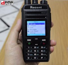 Mobile, comunicador, two, transceiver