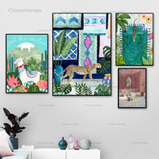 Cheetah, canvasart, living room, Home Decor