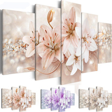 decoration, canvasart, Flowers, living room