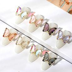 butterfly, art, nailjewelry, Beauty