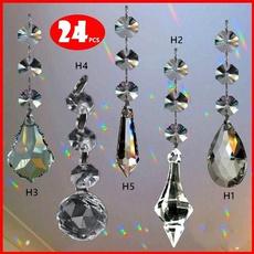 rainbow, crystal pendant, Christmas, hangingcrystal