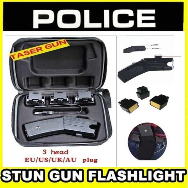 Flashlight, stungun, shockflashlight, electricshockflashlight