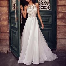 gowns, Lace, women dress evening, Dress