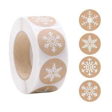 kraftpaperlabel, Christmas, Gifts, navidadsticker