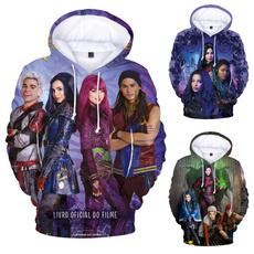 3D hoodies, descendantstop, Winter, Sweatshirts