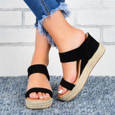 Summer, Plus Size, Womens Shoes, Women's Fashion