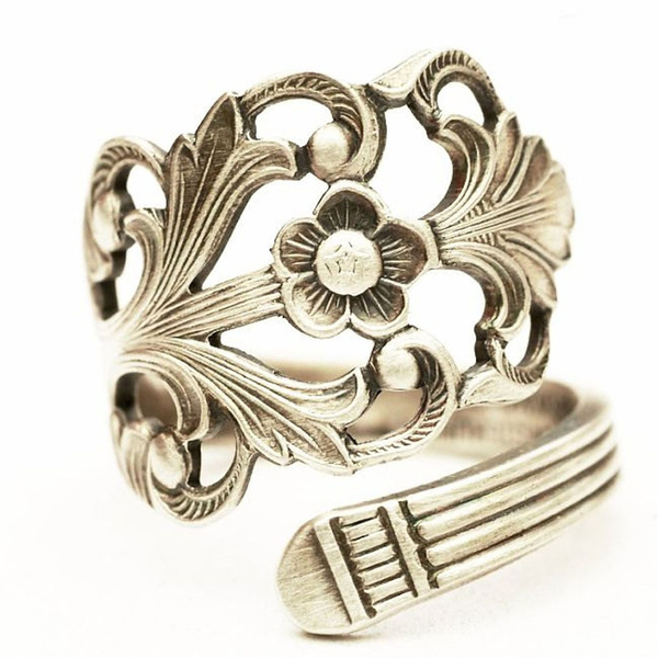 Sterling, magnoliajewelry, hollowring, Gifts