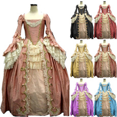 gowns, medievaldres, Lace, halloweendres