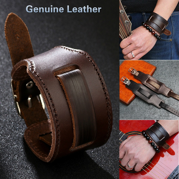 wristbandbracelet, men accessories, Vintage, genuine leather