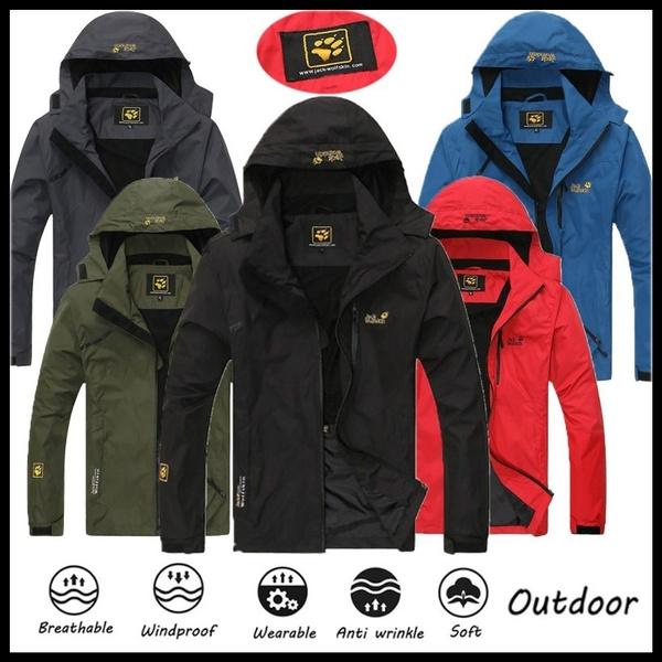 Shark, Outdoor, Winter, hoodedjacket