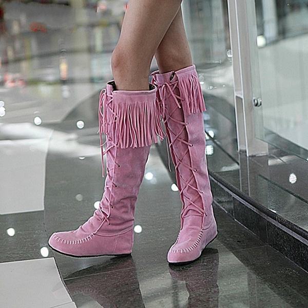 pink, brown, Fashion, Winter