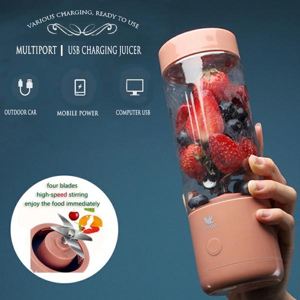 Mini, portable, Cup, Juicer