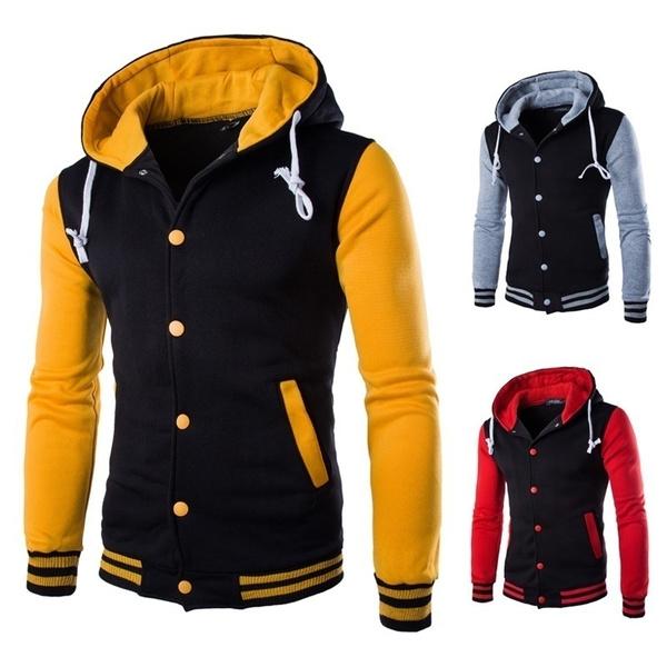 hoodedmensjacket, Polyester, hooded, Sleeve