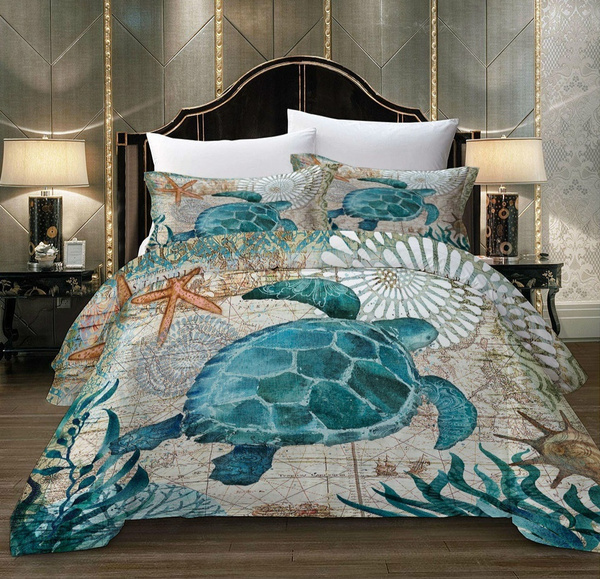 Turtle, Bedding, Cover, Duvet Covers