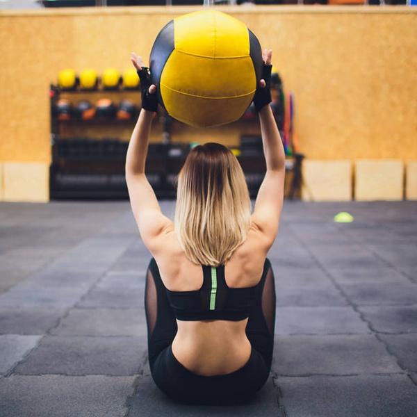 Heavy, wallball, crossfit, Fitness