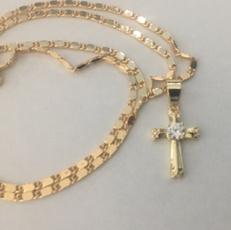 christnecklace, Chain Necklace, necklaces for men, Cross necklace